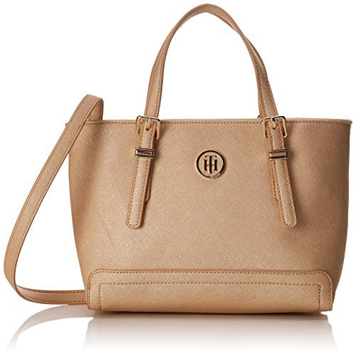 Gold Honey Hilfiger Tote Tommy Small w4fq6YS