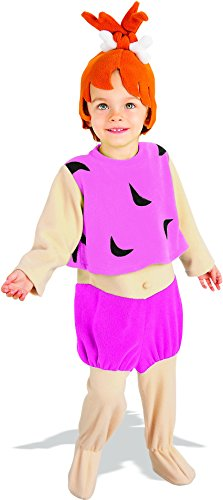 Pebbles Costume Halloween (Little Girls' Pebbles Flintstone Costume Small)