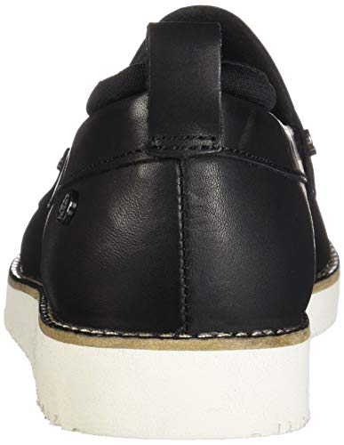 Women's Hush Leather Loafer Puppies Chowchow Black gxf5fBRwq