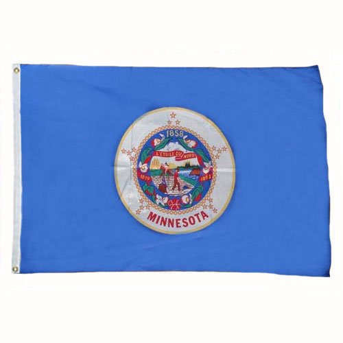 Minnesota Flag 2X3 Foot Nylon ()