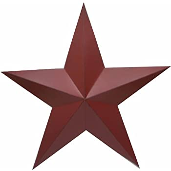 Dimensional barn star rusty 36 inch home for Decor star 004 ss
