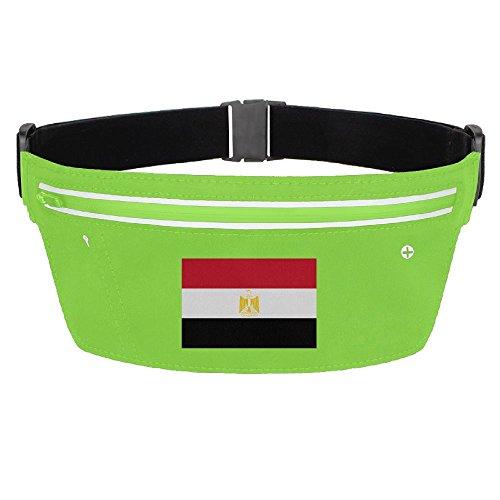 Waist Pack Bag Egyptian Flag Running Belt Ultrathin Hide Purse Adjustable Waterproof Outdoor