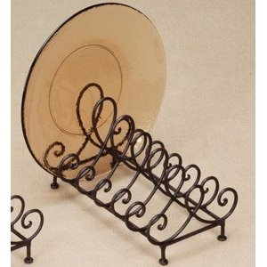 Dish Stand (Baldwin 6 Place Plate Holder Display Stand)