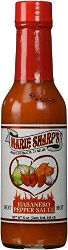 Marie Sharps Hot Sauce (Marie Sharp's Hot Habanero Sauce (Pack of 3))