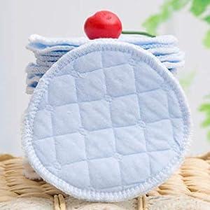Artibetter 6PCS Cotton Nursing Pads Washable Reusable Anti Milk Overflow Breastfeeding Pads for Pregnant Postpartum…