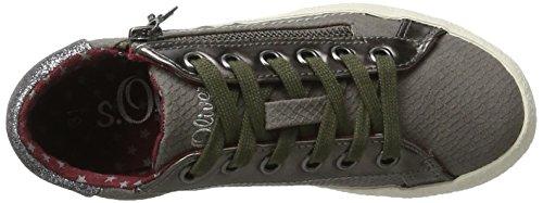 s.Oliver 43101, Zapatillas para Niños Gris (Grey)