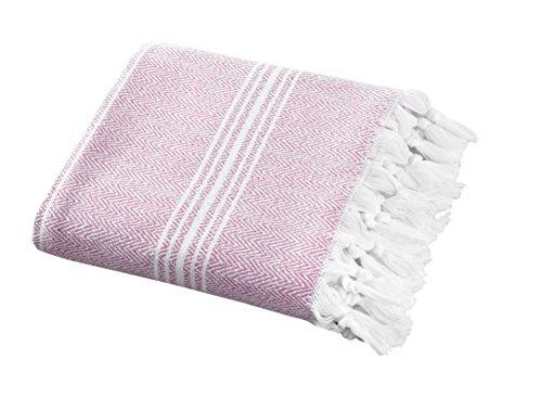 SALBAKOS Incredibly Soft, Turkish Peshtemal Fouta Towel, Eco