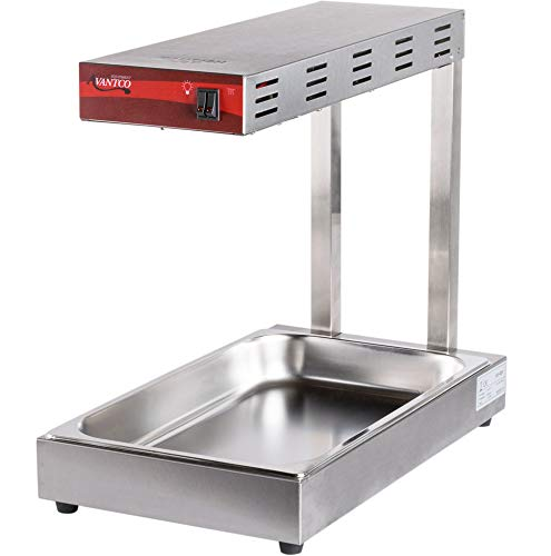 Avantco 120V Freestanding Infrared French Fry Warmer/Dump Station ()