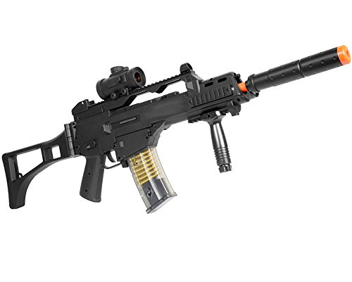 Double Eagle M85P AEG Electric Automatic Airsoft Gun Rifle Full Auto Great Starter Airsoft Gun