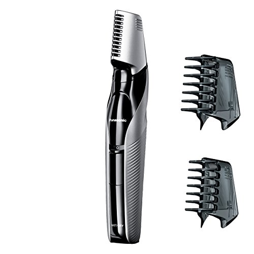 Panasonic Cordless Electric Body Groomer and Trimmer with Waterproof Design, - Groomer Blade Personal Panasonic