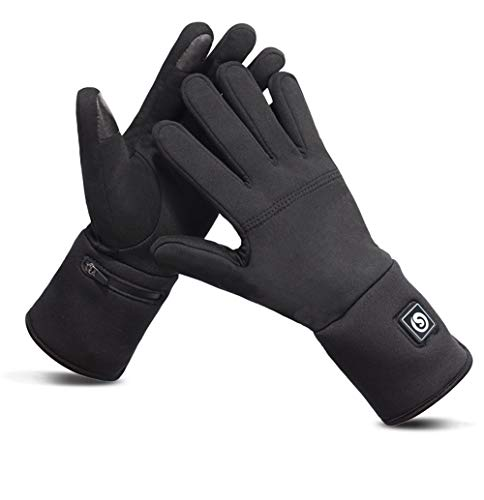 LYzpf Verwarmde Handschoenen Outdoor Winter Warm Gezellige Mannen Vrouwen Oplaadbare Elektrische Artritis Hand Warmer…