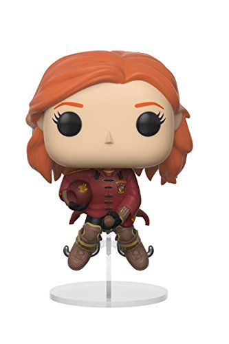 Funko Pop Movies: Harry Potter-Ginny on Broom Collectible Figure