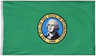 product image for All Star Flags 4x6' Washington Nylon State Flag - All Weather, Durable, Outdoor Nylon Flag