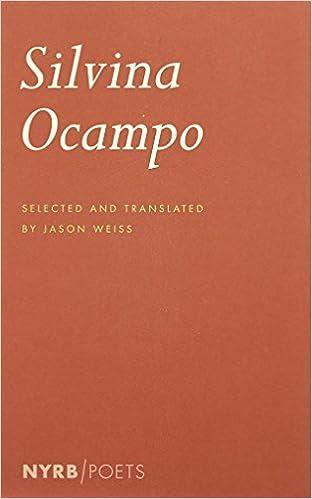 Silvina Ocampo (New York Review Books Poets)