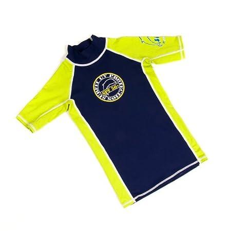 Surfit - Maglietta a maniche corte da bambino, con tecnologia Quick-Dry e protezione UV 50+
