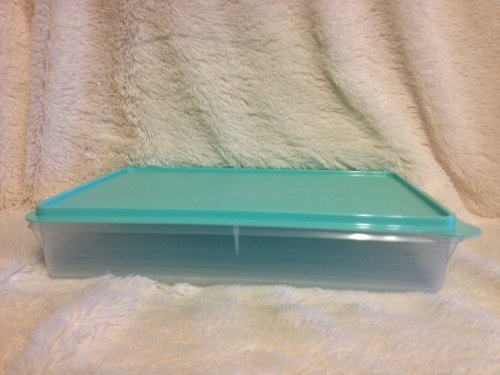 Tupperware Cold Cut Keeper Snack Stor Large Container, Snow White Mint Ice Cream Color