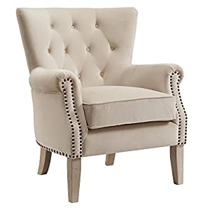 Dorel Living Accent Chair, Beige