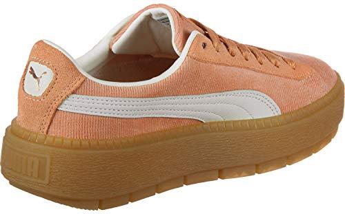 Femmes Coral Basket Puma Rose Corduroy Dusty Trace Platform UFSxnqAwd