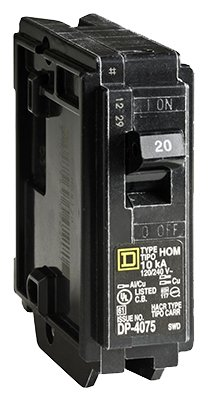 Square D By Schneider Electric 10 Packs 20A SP Circuit Breaker 20a 120v Sp Breaker