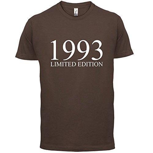 1993 Limierte Auflage / Limited Edition - 24. Geburtstag - Herren T-Shirt - Schokobraun - L