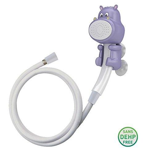 Belanger FCSPSA018, Purple Hippo Hand Shower for Kids