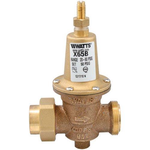 WATTS BRASS & TUBULAR LFX65BU 3/4 3/4'', Lead Free Water Pressure Reducing Valve by Watts Brass & Tubular