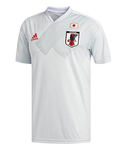 (adidas Men's Japan 2018 Away Jersey - Clear Grey/White)
