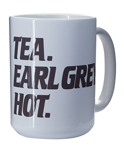 Star Trek Collectible Mugs (Tea. Earl Grey. Hot) (Tea Star Trek)