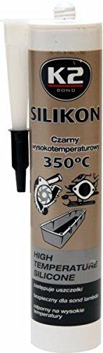350° Schwarz 300g Baustoffe & Holz K2 Silikon Silikon Hochtemperatur Dichtmasse