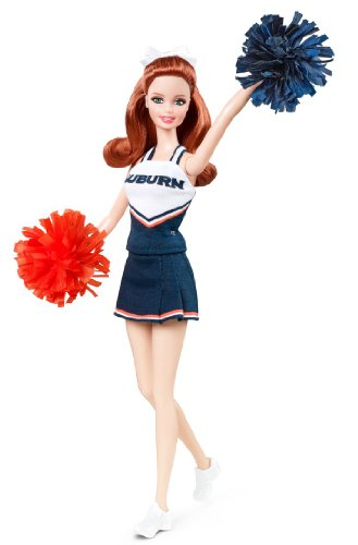 Barbie Collector Auburn University Doll -