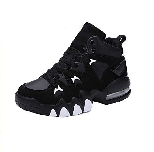 タイガー歯バスケットボールシューズクッションクッション男性と女性スポーツ靴カジュアルな靴トレンド通気性カップル靴滑り止めスポーツ靴を高める