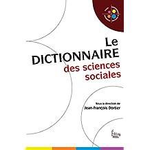 Dictionnaire des sciences sociales (French Edition)