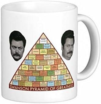 Superior Printing - Taza de café con diseño de la pirámide de ...