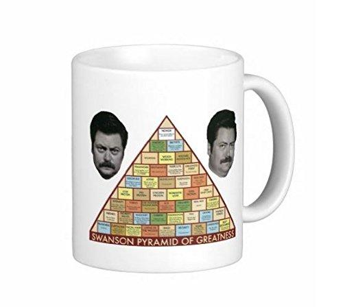 Superior Printing - Taza de café con diseño de la pirámide de la ...