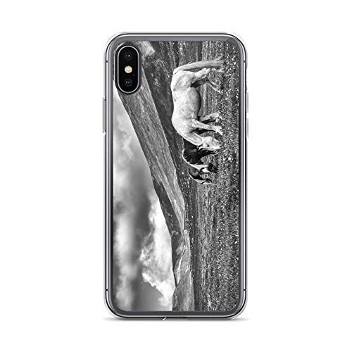 iPhone X/XS Case Anti-Scratch Creature Animal Transparent Cases Cover Society Animals Fauna Crystal Clear
