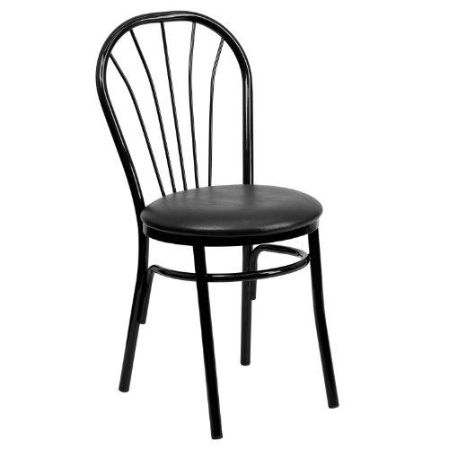 41UcY4BlzaL - Flash Furniture HERCULES Series Fan Back Metal Chair