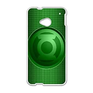 HTC One M7 Phone Cases White Green Lantern BCH013234