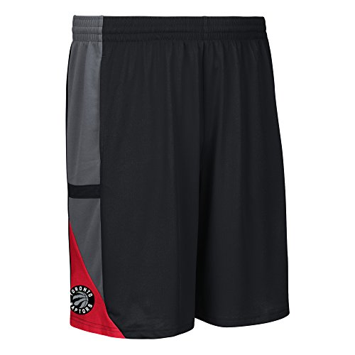NBA Toronto Raptors Men's Tip-Off Mesh Shorts, Large, Black (Jersey Raptors Black)