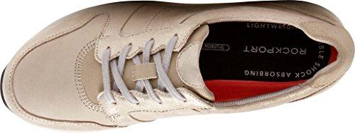 Rockport Kvinders Trustride Derby Træner Mode Sneaker Sten Multi Læder 35R67lA0v