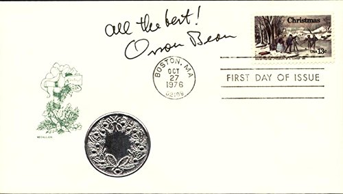 Orson Bean - First Day Cover With Autograph Sentiment - Quiz Personality Unique