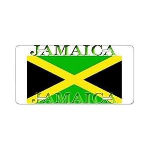Amazon Com Davis Relev Jamaica Jamaican Flag Aluminum