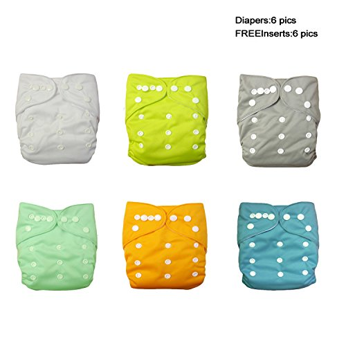 Diapers Washable Reusable Breathable Adjustable