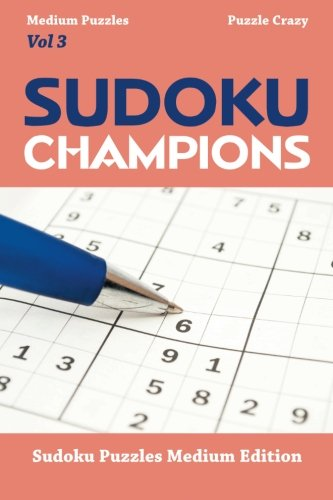 Sudoku Champions Medium Puzzles Vol product image