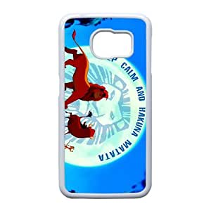 Phone Accessory for Samsung Galaxy S6 Edge Phone Case The Lion King T1367ML