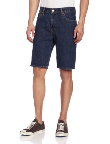 Levi's Men's 505 Regular Fit Short, Dark Stonewash, 44