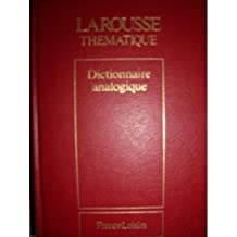 Nouveau dictionnaire analogique (Larousse thématique)