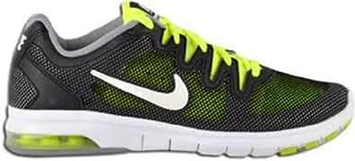 Nike Women's Air Max Fusion Cross Training Shoe,Black/Volt/Stadium Grey/Metal Size 11