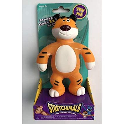 Stretchimals Tension Tiger Animal Stretch Toy Magic Time