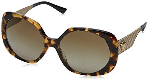 Versace Havana Sunglasses (Versace Women's VE4331 Sunglasses Havana / Brown Gradient 57mm)