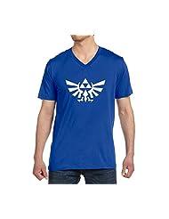 Jackyeah The Legend Of Zelda Mens V-neck Short Sleeve T Shirt